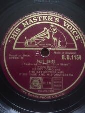 "PERRY COMO 10"" 78 - BLUE SKIES / IF I'M LUCKY - HMV B.D.1154"