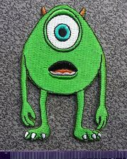 Mike Wazowski Monsters, Inc cartoon Craft Embroidery Sew Iron On Patch