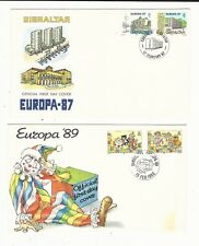 Gibraltar: Small lot of 4 first day cover different thematic Europa. GI38