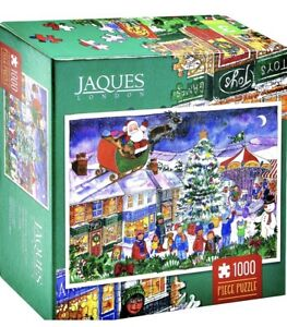 CHRISTMAS FAIR Jigsaw Puzzle 1000 pc by  JAQUES OF LONDON - *NEW* FREE UK P&P