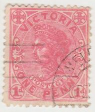 (JA-62) 1901 VIC 1d red QVIC (C)