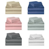 Jersey Knit Cotton Fitted Sheet Soft, Breathable Jersey T-Shirt Soft Sheet Set