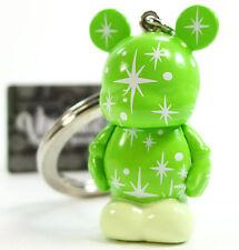 "Disney VINYLMATION JR SERIES 1 GREEN SPARKLES CHASER Keychain 1.5"" Vinyl Figure"