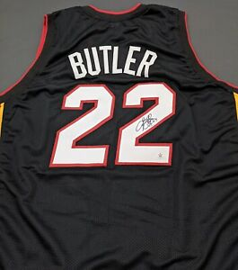 Jimmy Butler Miami Heat Autographed Signed Jersey Size XL COA