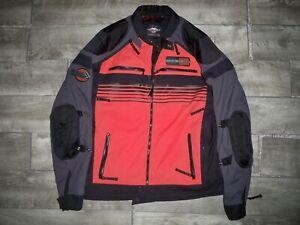 Harley Davidson Cafe Racer Motorcycle Men's Biker Riding Jacket Size Tall Large