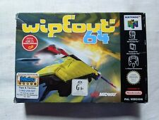 wipeout 64 boxed Protector Nintendo 64 PAL TRACKED POST M