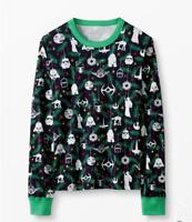 Hanna Andersson Star Wars Holiday Pajama Top M Adult Long Sleeve Shirt
