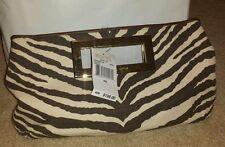NWT Michael Kors Berkley Tiger clutch retail $198