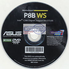 ASUS GENUINE MOTHERBOARD SUPPORT DISK P8B WS M1929