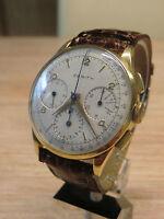 50er Jahre Chronograph Zenith  Cal. 156 Handaufzug, OVERSIZE