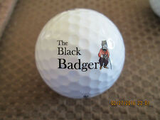 Logo Golf Ball-The Black Badger Pub.Canada.Badger Logo