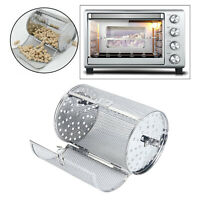Kitchen Rotisserie Grill Roaster Drum Oven Basket Oven Roast