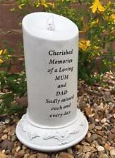 Especial Mamá y Papá memorial tributo de energía solar Parpadeo Vela del LED DF17131F
