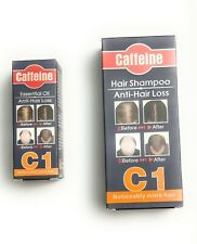 200ML Anti Perte de Cheveux Shampooing + 30g Essentiel Oil-By CAFFEINE