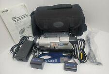 Sony Handycam camcorder 8mm VIDEO TRANSFER Hi8 Video CCD-TRV608 WORKS + Acc