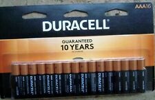 Duracell® Coppertop Alkaline AAA Batteries Pack Of 16 New in Sealed Pkg Exp 2030