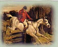 Full Cry ridden by Tom Clarke of Old Berkshire from the Book of the Horse 1874