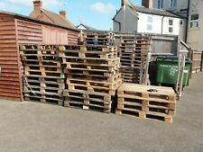 More details for shipping pallet standard size heavy duty wooden pallets used euro pallets x 1
