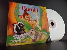 Walt Disney's Classic Bambi Laserdisc Extended Play