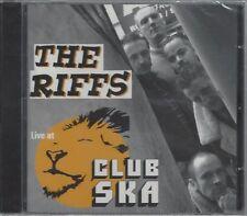THE RIFFS - LIVE AT CLUB SKA - (sealed cd) - MOON CD 110