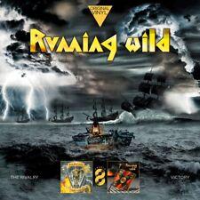 RUNNING WILD - ORIGINAL VINYL CLASSICS: THE RIVALRY+VICTORY  2 VINYL LP NEU