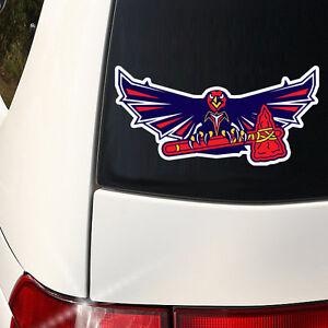Atlanta Teams Hawks, Falcons, Braves  Indoor / Outdoor Car Wall Decal Graphics