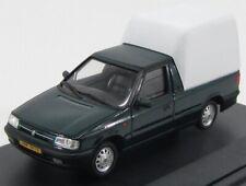 Abrex 143abs-710hw scala 1/43 skoda felicia pick-up van closed 1996 dark green