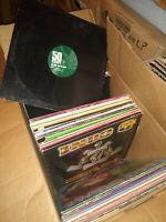 Vinyl Lot of 10 Rap,R&B, Disco,House,Soul,Funk & More DJ Collection 1980s -2000s