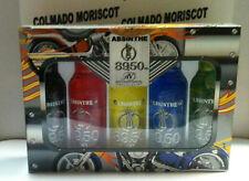 MINI PACK ABSINTHE 89.5 5u x 4cl cristal miniatura mignonette mini bottle absint