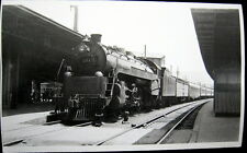 Southern Pacific Railroad~Locomotive Engine # 201 in Railroad Station Photo