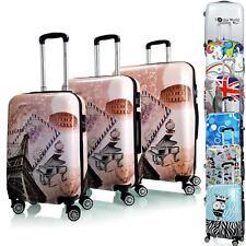 Reisekoffer QTC MIX Hartschale Kofferset Koffer Doppelrollen Trolley Case M L XL