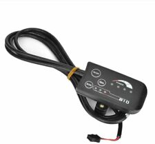 DISPLAY LED 36/48 VOLT MODE 810 PER BICI ELETTRICA E-BIKE PANNELLO DI CONTROLLO