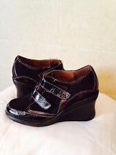 Aerosoles Womens Dark Brown Leather upper, oxford Shoes 6.5 M