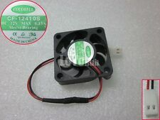 For COLORFUL 4010 CF-12410S 12V 0.13A cooling fan 40 * 40 * 10MM 2-Pin Sleeve