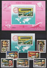 Hungary 1977. Aviation / balloon special collection set + sheet + SPECIAL BLOCK