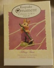 1994 Hallmark Ornament Tilling Time Collector's Club Easter Collection NIB NEW
