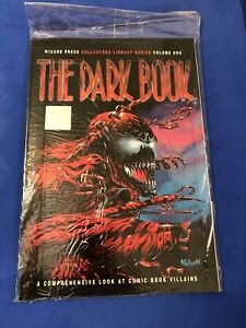 """WIZARD PRESS """"THE DARK BOOK"""" SEALED 1994 HIGH GRADE - CARNAGE COVER WITH POSTER"""