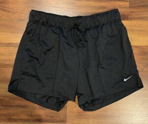 NEW Nike Women's Dri-FIT Shorts Attack Short Athletic DA0319-013 Black Small S