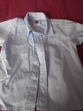 Boy's Long Sleeved Pale Blue Collared Shirt Age 2 Years