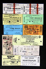 North America Single Collectable Railway Tickets