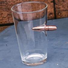 2 Monkey Trading Lucky Shot .50 Cal Bullet Pint Glass LS-BPG-50 Qty. 1