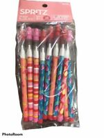 (LOT OF 3) Packages of Spritz 16 Count Push Pencils Different Colors 48 Total