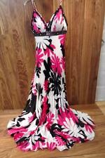 BLUSH PROM by Alexia Pink Gown Prom Dress Pleated Sequin Formal Party Sz 2