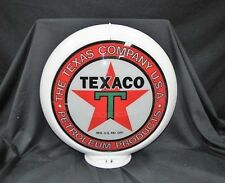 TEXACO PETROLEUM PRODUCTS GAS PUMP GLOBE