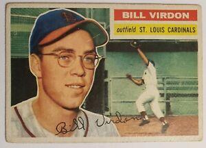 1956 Topps Bill Virdon #170 Vg Free Combined Shipping