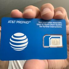 At&T Oem 4g Lte Sim Card Unactivate Lot Of 100 Sims