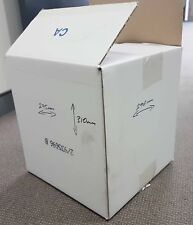 Cartons - Second hand white cartons -  L295mm x W290mm x H310mm - bundles of 25