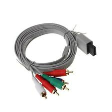 1.8m Component 5RCA 1080P HDTV AV Audio Adapter Cable For Nintendo Wii Console