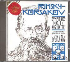 "RIMSKY-KORSAKOV - Symphonies 1 & 2 ""Antar"" - Evgeny SVETLANOV - RCA"