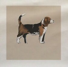 Dog Beagle Fabric Panel Make A Cushion Upholstery Craft